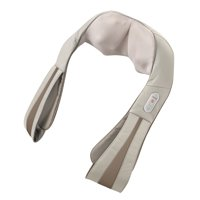 HoMedics Quad-Action Shiatsu Massager fpr Neck & Shoulders with Heat & Kneading, Model NMS-620HB