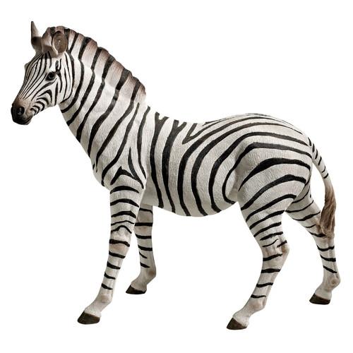 Design Toscano Zora, the Zebra Statue