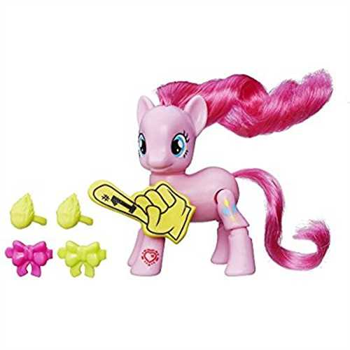 My Little Pony Explore Equestria Pinkie Pie Cheering Poseable Action Pony by Hasbro
