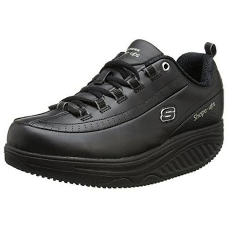 wholesale dealer 61c50 7659d Skechers Work - Skechers Womens Shape Ups Elon Leather Slip Resistant Work  Shoes - Walmart.com