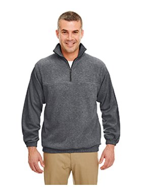 UltraClub Adult Iceberg Fleece Quarter-Zip Pullover