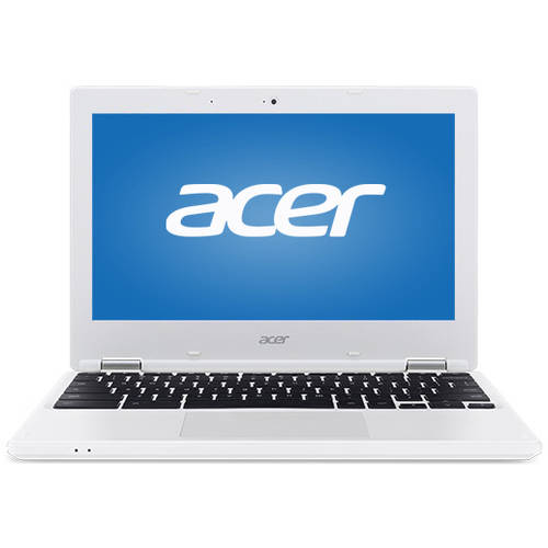 "Refurbished Acer CB3-131-C3KD 11.6"" Chromebook, Chrome, Intel Celeron N2840 Dual-Core Processor, 2GB RAM, 16GB Flash Memory"