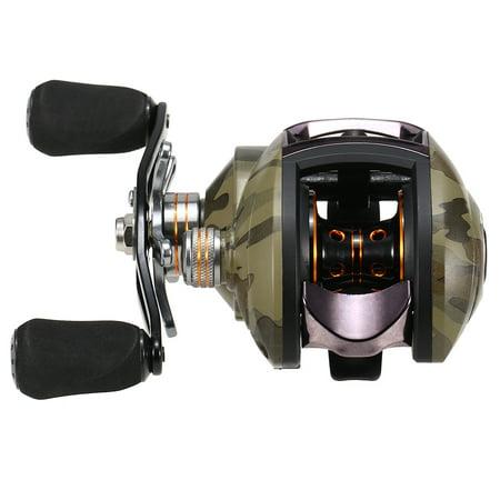 American Tackle Aluminum Reel - Lightweight High Speed 8.1:1 Gear Ratio Baitcast Fishing Reel 12+1 Ball Bearings Baitcasting Fishing Reel Baitcaster Tackle
