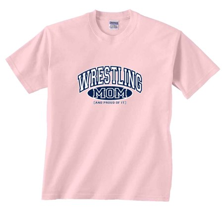 Wrestling Mom and Proud of It T-Shirt