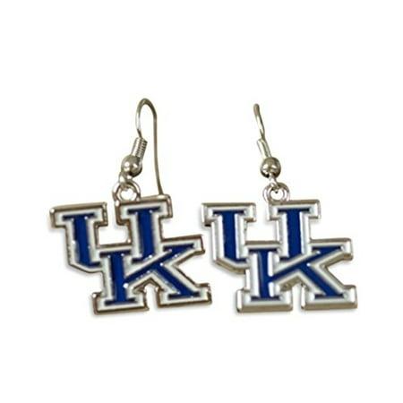 - University of Kentucky Wildcats UK Logo Dangle Earrings
