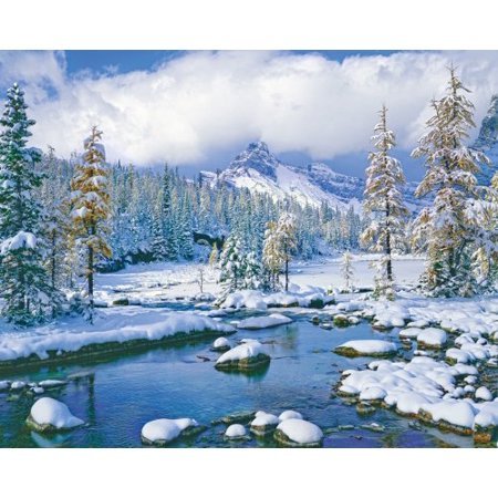 Springbok Puzzles - Winter Paradise - 1000 Piece Jigsaw