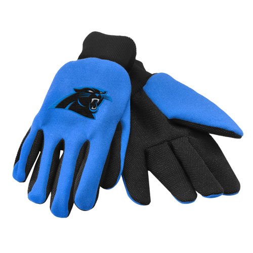 """Forever Collectibles Carolina Panthers Work - Utility Gloves Work or Utility Gloves"""