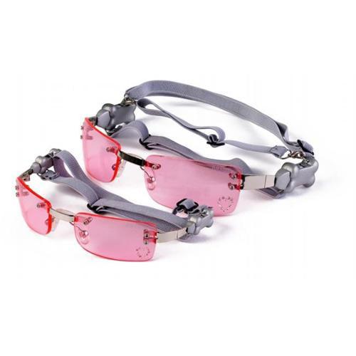 Doggles SGMTXS02 Extra Small K9 Optix Heart Lens - Pink