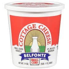 Belfonte 4% Milk Fat Small Curd Cottage Cheese, 16 oz