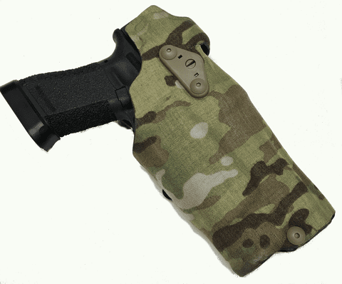 Safariland 6354DO-832-701-MS19 ALS Optic Holster Multi Cam R H Fits Glock 17 22 by SAFARILAND