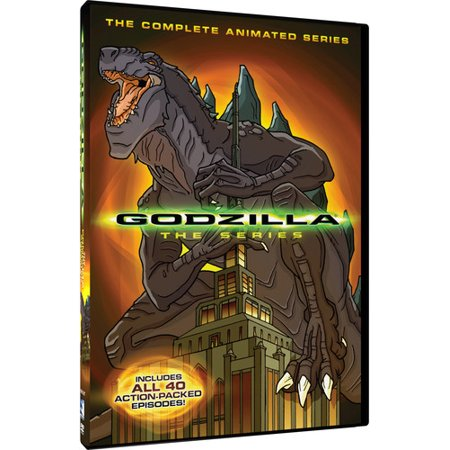 Godzilla: The Complete Animated Series (DVD) (Animated Halloween Tv Shows)