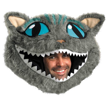 Cheshire Cat Headpiece Adult Halloween Accessory](Halloween Cat Face Makeup Adults)