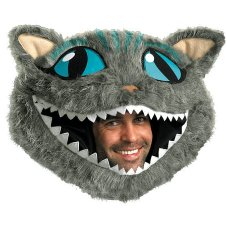 Cheshire Cat Headpiece Adult Halloween Accessory (Cat Halloween Carving)