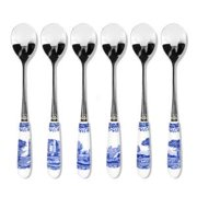 Spode Blue Italian Tea Spoons (Box of 6)