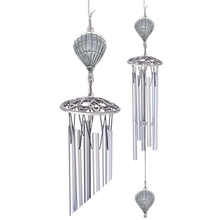 Heritage Metalworks Wc3312 Hot Air Balloon Wind Chime Walmartcom