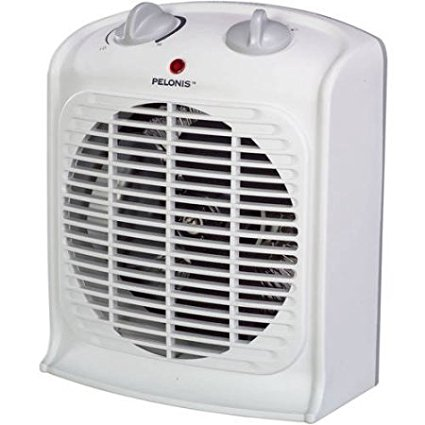 Fan-forced Portable Space Heater with Thermostat-new, Thr...
