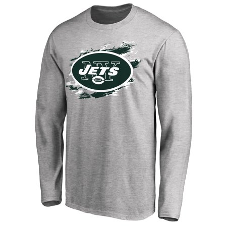 New York Jets NFL Pro Line True Colors Long Sleeve T-Shirt - - Nick Mangold New York Jets