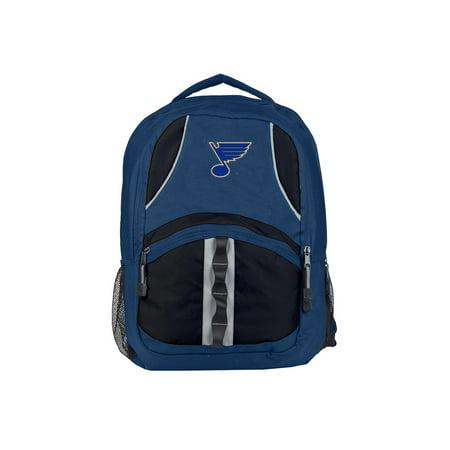 """NHL St. Louis Blues """"Captain"""" 18.5""""H x 8""""L x 13""""W Backpack"""