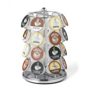 Nifty 28 Capacity Coffee Pod Carousel in Chrome