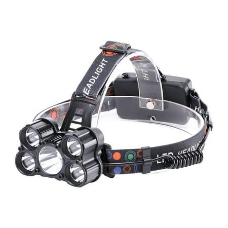 U`King ZQ - X862 4500LM 5x XML - T6 4 Mode Rechargeable Multifunction Headlamp