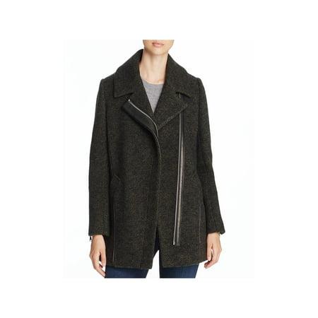 Andrew Marc Womens Zoe Winter Virgin Wool Coat Nike Wool Jacket