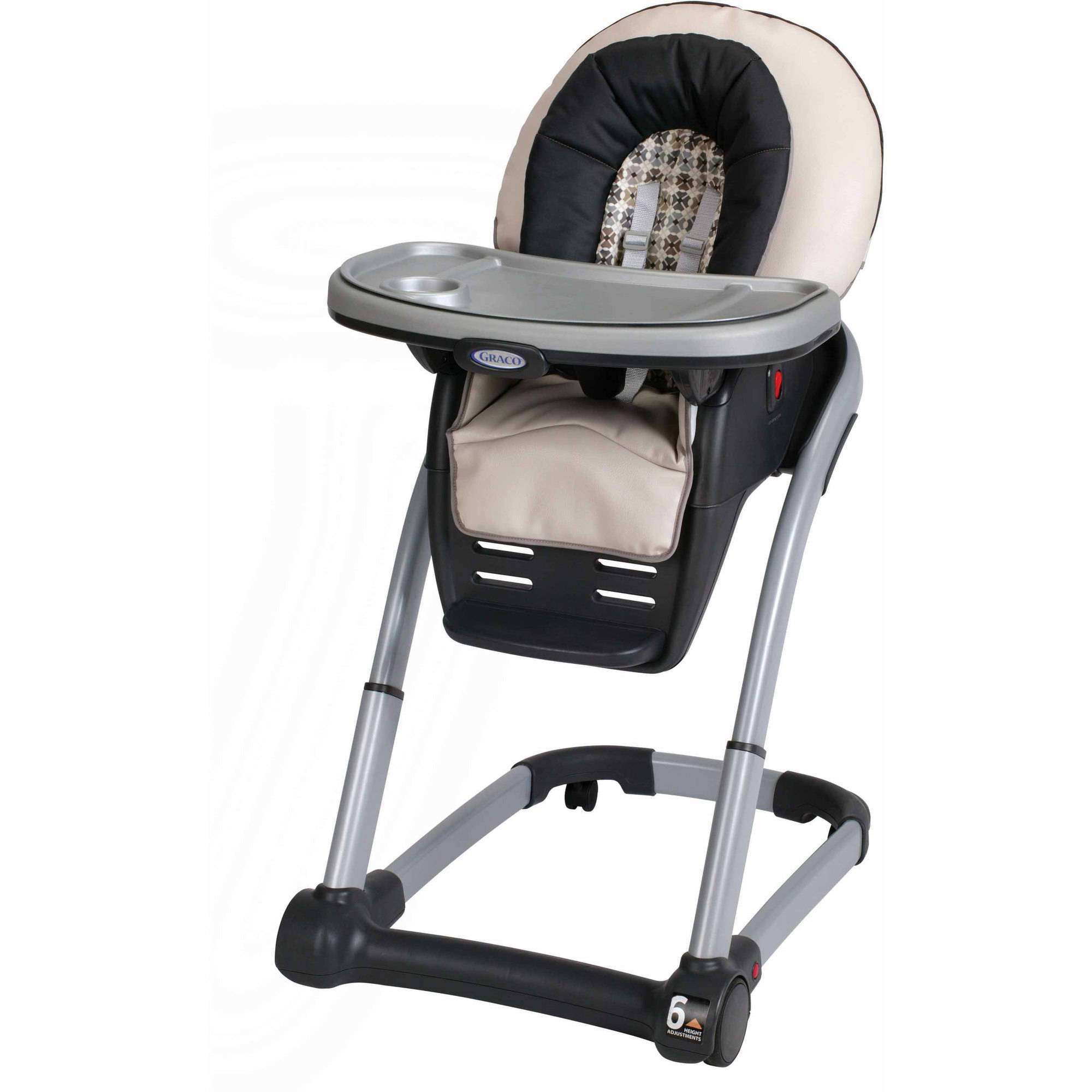 Graco Blossom 4-in-1 Seating System Convertible High Chair, Vance
