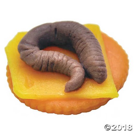 Worm Finger Food - Halloween Themed Finger Food