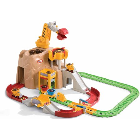 Little Tikes Big Adventures Construction Peak Rail and Road Play Set