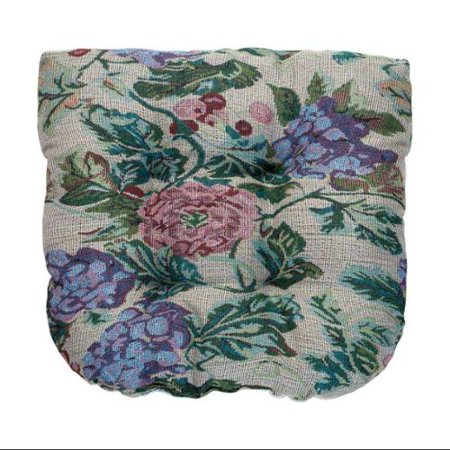 Tapestry Chair Pad (Tapestry Tufted Chair Pad)