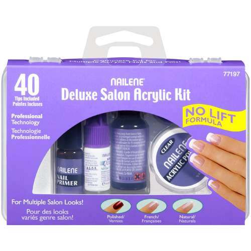 Pacific world nailene salon acrylic kit 1 ea walmart solutioingenieria Gallery