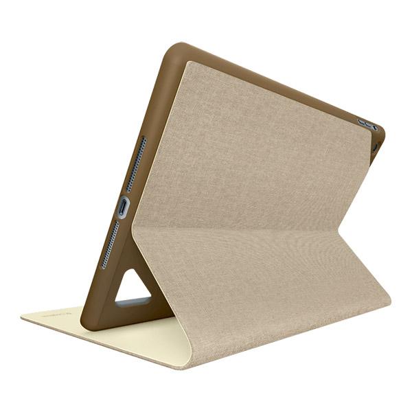 Logitech Hinge Flexible Case for iPad Air, Light Brown