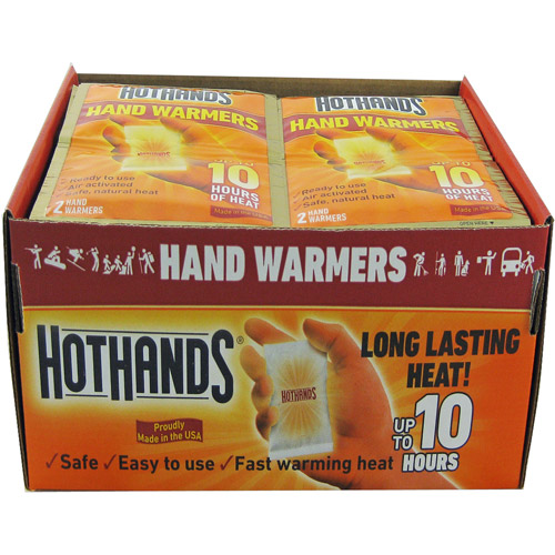 HeatMax HotHands Hand Warmers, 40 pairs