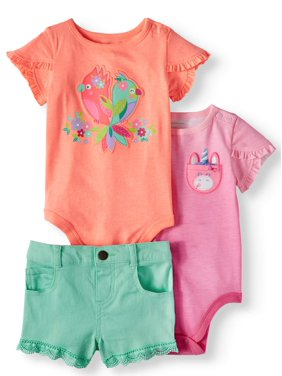Baby Girls Outfit Sets - Walmart.com be34ee93c