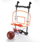 UNITED SPORTS Hoop On Basketball Game Set, Door and Wall Hang, Indoor/Outdoor Play