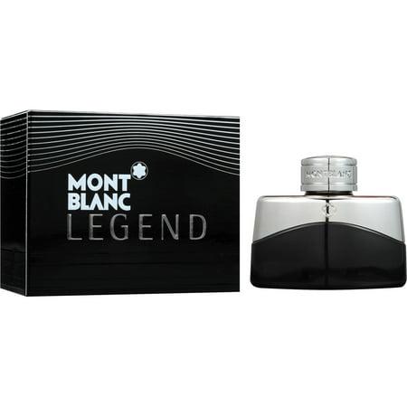 Mont Blanc Legend Fragrance EDT Spray for Men, 1.0 oz