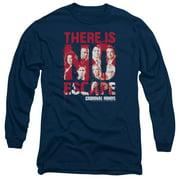 Criminal Minds No Escape Mens Long Sleeve Shirt