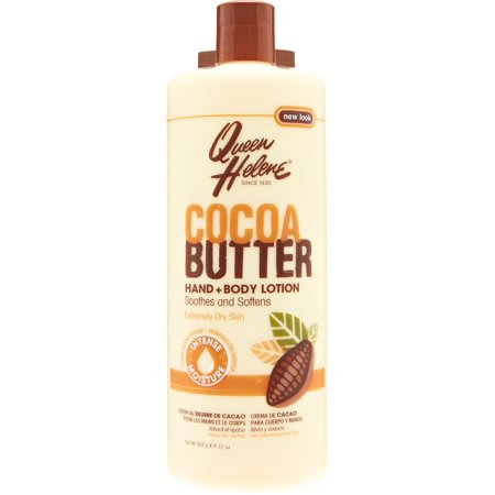 3 Pack - QUEEN HELENE Cocoa Butter Hand and Body Lotion 32 (Queen Helene Cocoa Butter Lotion On Hair)