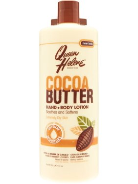 3 Pack - QUEEN HELENE Cocoa Butter Hand and Body Lotion 32 oz