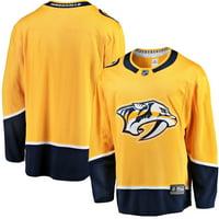 Nashville Predators Fanatics Branded Breakaway Home Jersey - Gold