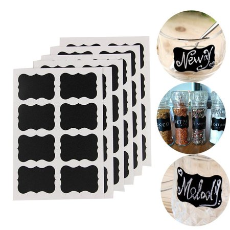 Well Made Blackboard Sticker Craft Kitchen Candy Jar Organizer Labels 48Pcs/Set](Candy Craft Server)