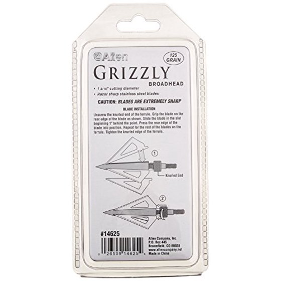 Archery Allen Grizzly Broadheads To Have A Unique National Style Sporting Goods