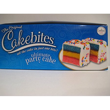 Ultimate Party Central (The Original Cakebites, Ultimate Party Cake! (12)- 2oz)