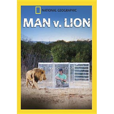 National Geographic: Man v. Lion (DVD)