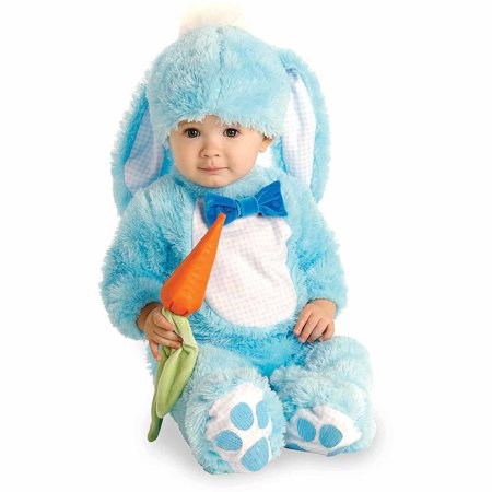 Blue Bunny Infant Halloween Costume - Toddler Bunny Rabbit Halloween Costume