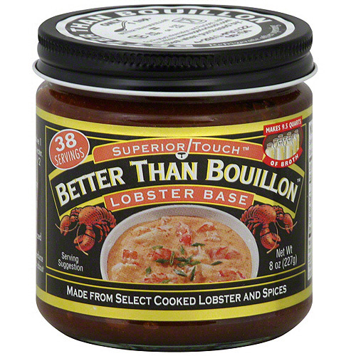 Superior Touch Better Than Bouillon Lobster Base Bouillon, 8 oz (Pack of 6)