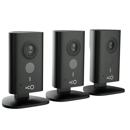 Oco HD Cloud Security 960p Video Monitoring Surveillance Camera with Cloud Storage and SD card (3-Pack)