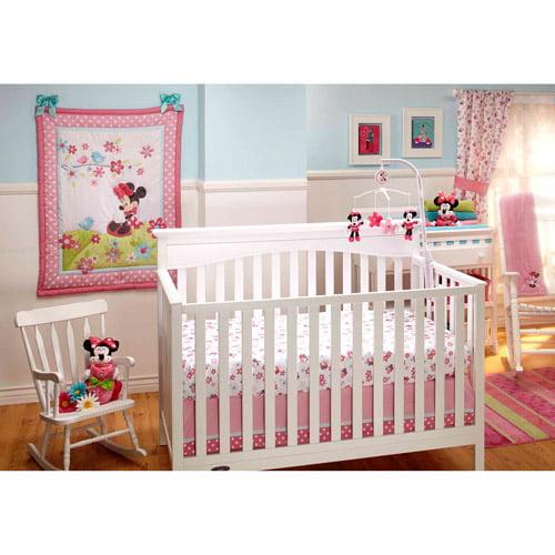 Disney Baby Bedding Sweet Minnie Mouse 3 Piece Crib