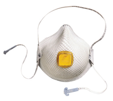 Click here to buy 2800 S HandyStrap N95 Particulate Respirators, Half-face piece, M L, 10 bx by Moldex.