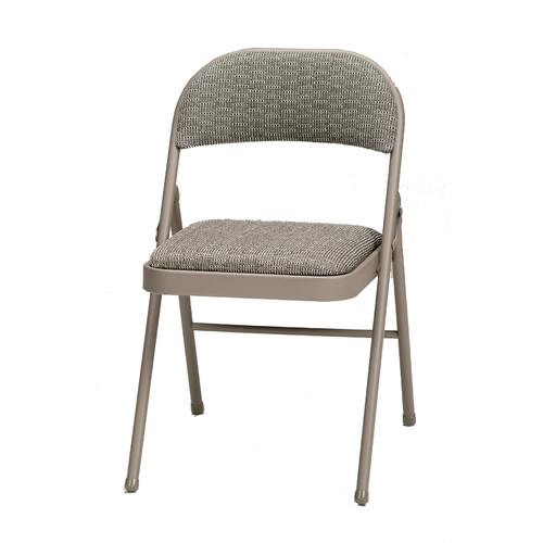 Fabric Double Padded Folding Chair Courtyard Chicory