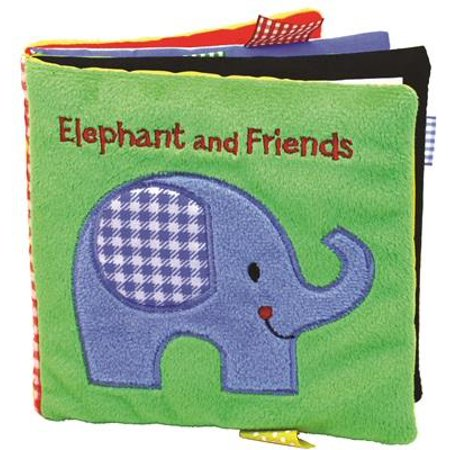 Elephant and Friends : A Soft and Fuzzy Book for - Great Halloween Books For Toddlers